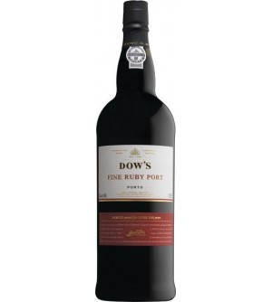 Dow's Fine Ruby Port Wine