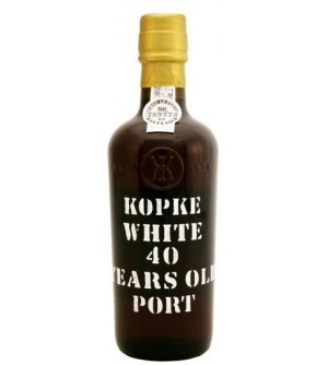 Kopke White 40 Years Old Port Wine (375ml)