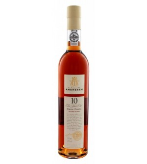 Andresen 10 Years Old White Port Wine (500ml)