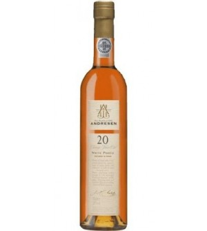 Andresen 20 Years Old White Port Wine (500ml)