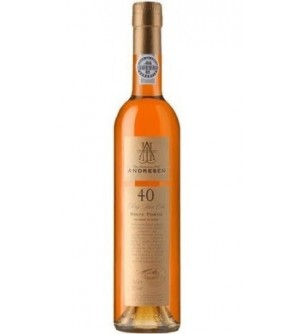 Andresen 40 Years Old White Port Wine (500ml)